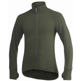 Woolpower 600 Full-Zip Jacke pine green